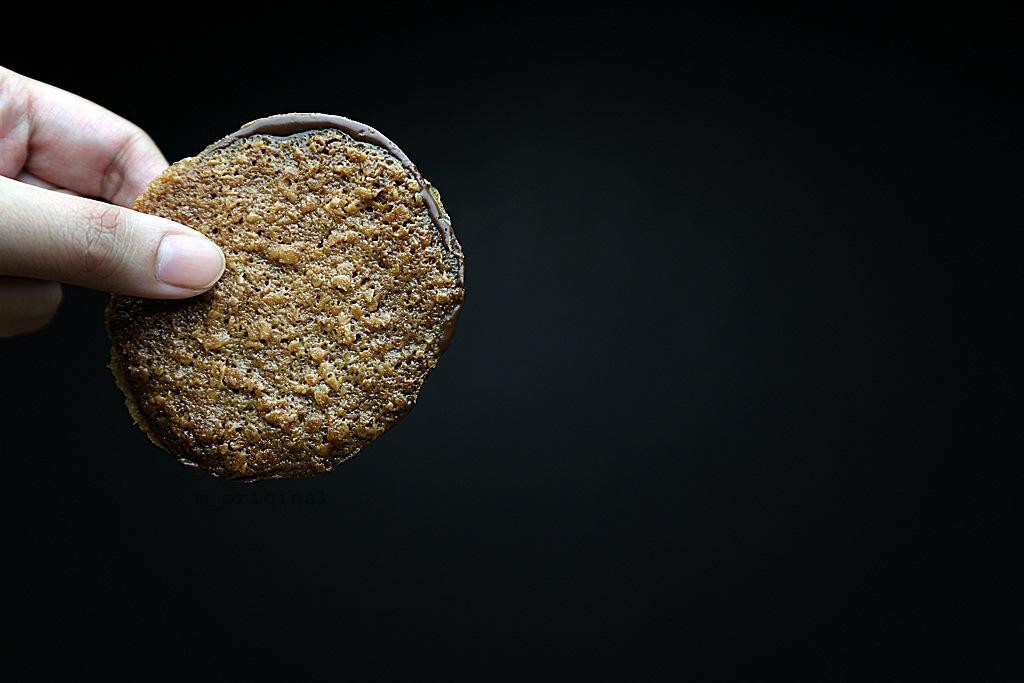 Cookies Unlimited Lace Crisps Hazelnut Chocolate