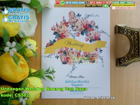 Undangan Wedding Nanang Dan Nana
