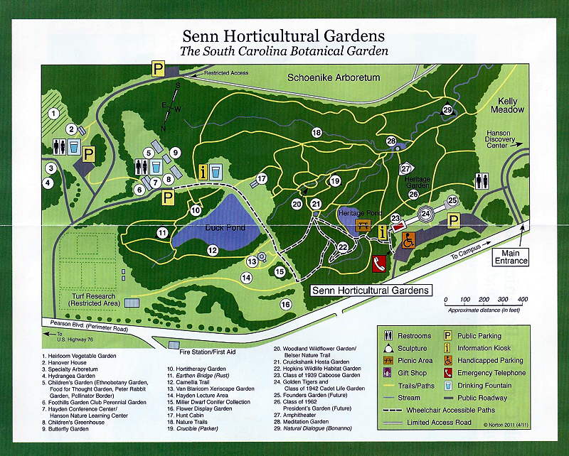 Sc Botanical Gardens Visitor Center
