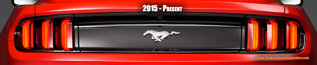 2015 2016 mustang tail light guide tri bar pony identification taillights