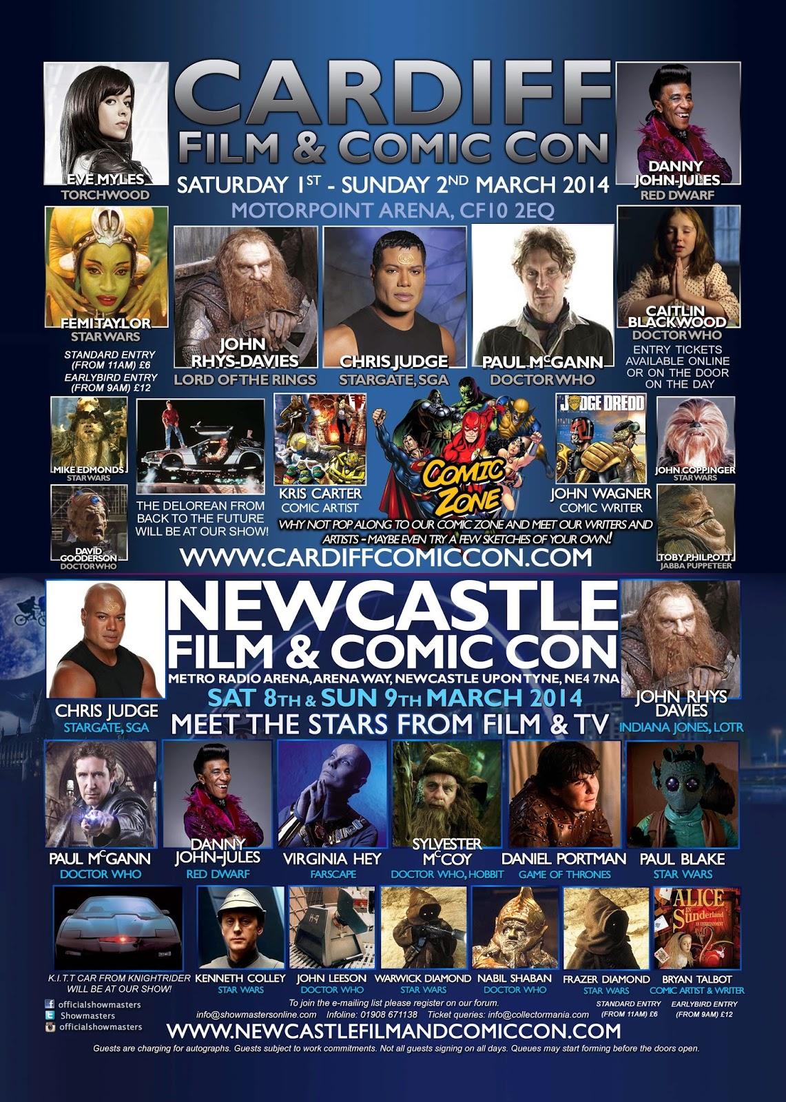 Cardiff Film & Comic Con