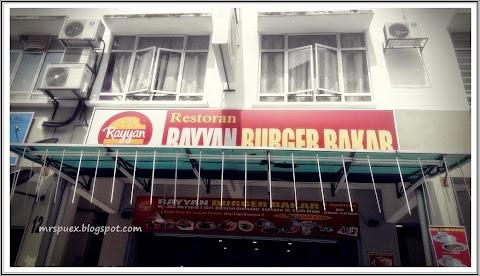 Rayyan Burger Bakar