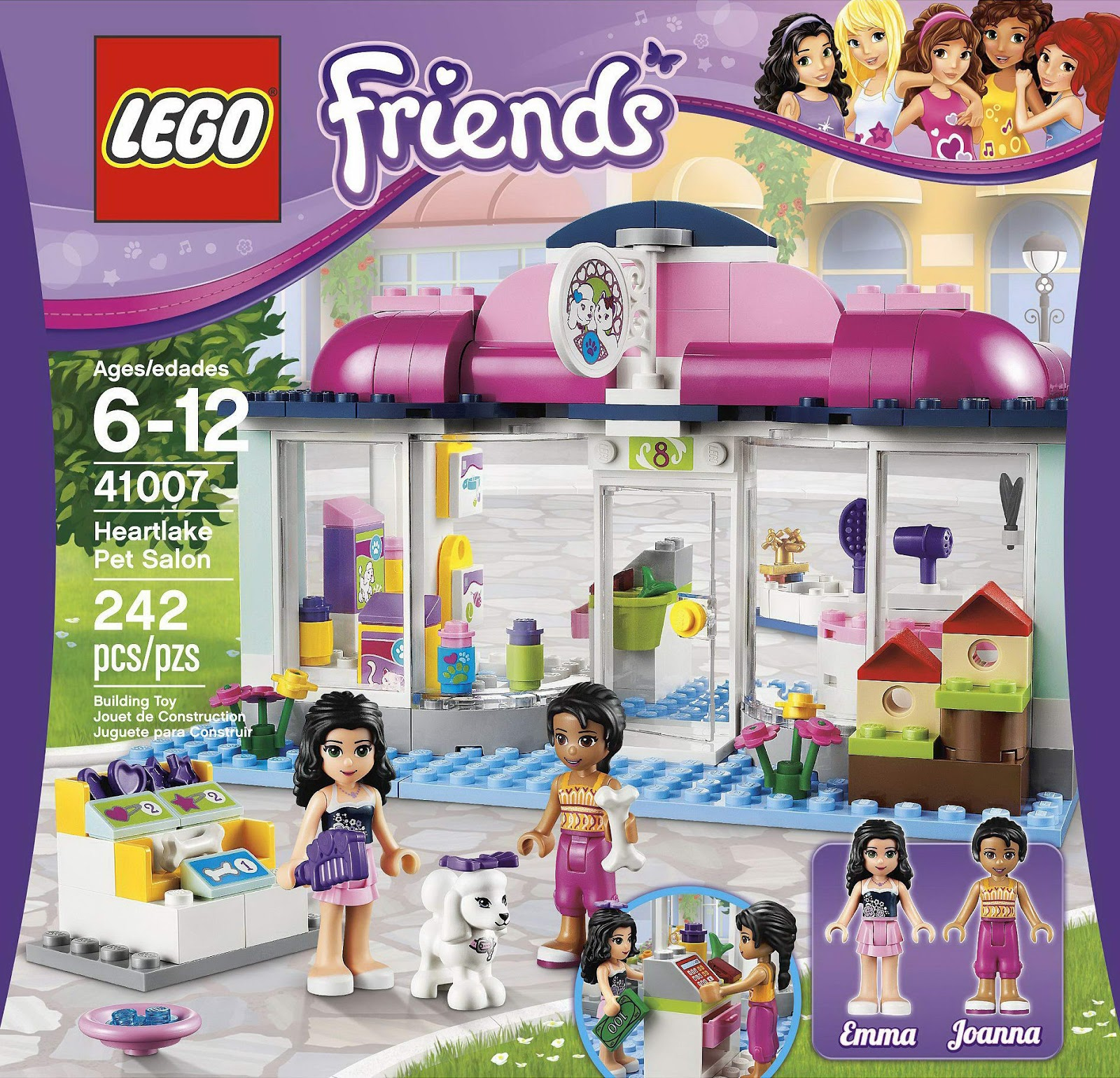 lego friends pet sets