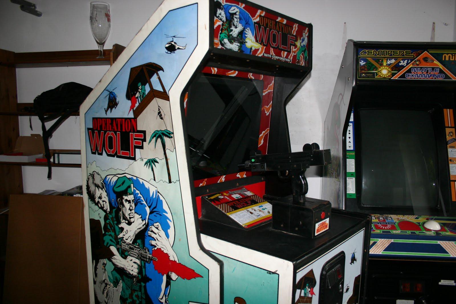 arcade and modding operation wolf repair log