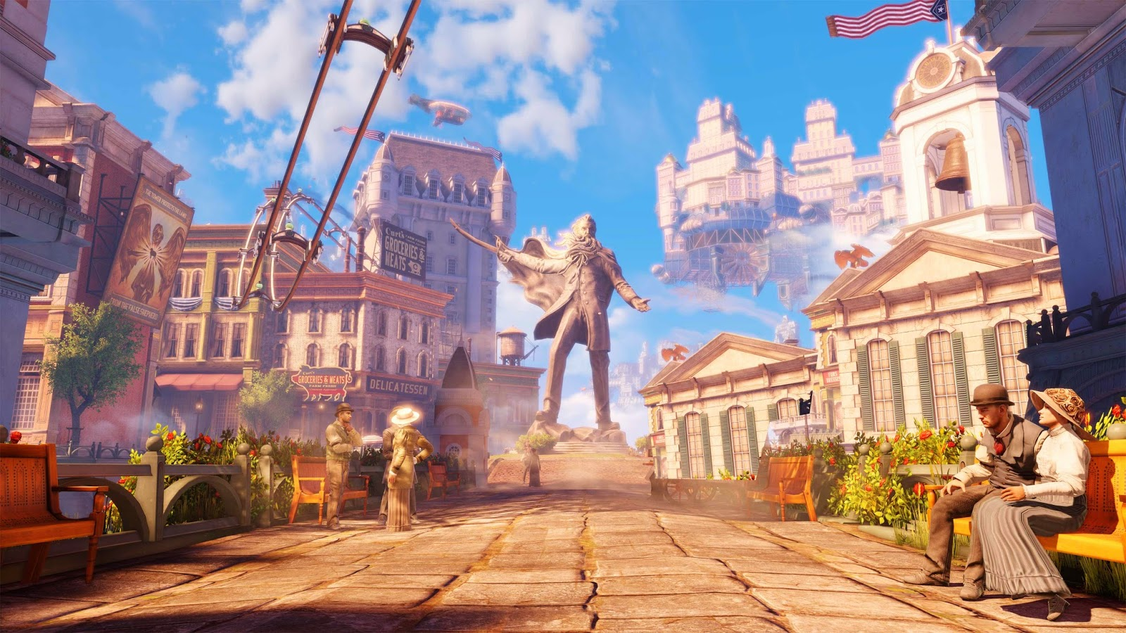 Bioshock Infinite, otro éxito de videojuegos en PC