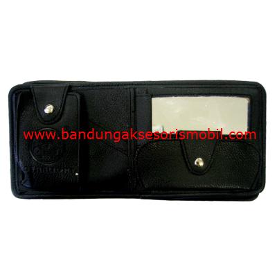 CD Bag Kulit + Cermin SL - 298 Hitam