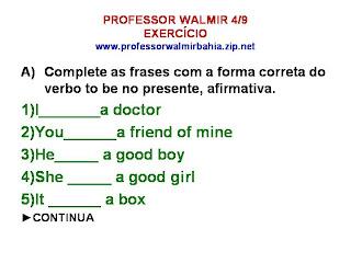 To be verbs yahoo