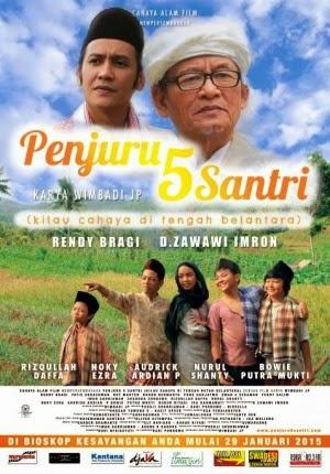 Film Penjuru 5 Santri 2015 di Bioskop