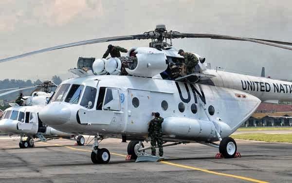 Menhan Tinjau Kesiapan Satgas Helikopter TNI KONGA XXXV-A