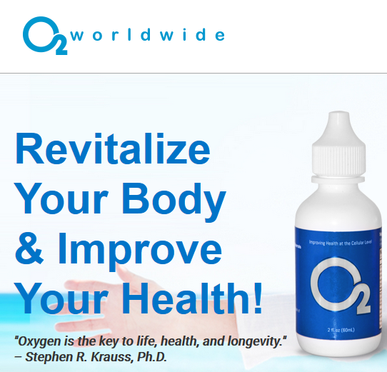 Oxygenate Your Blood Stream!