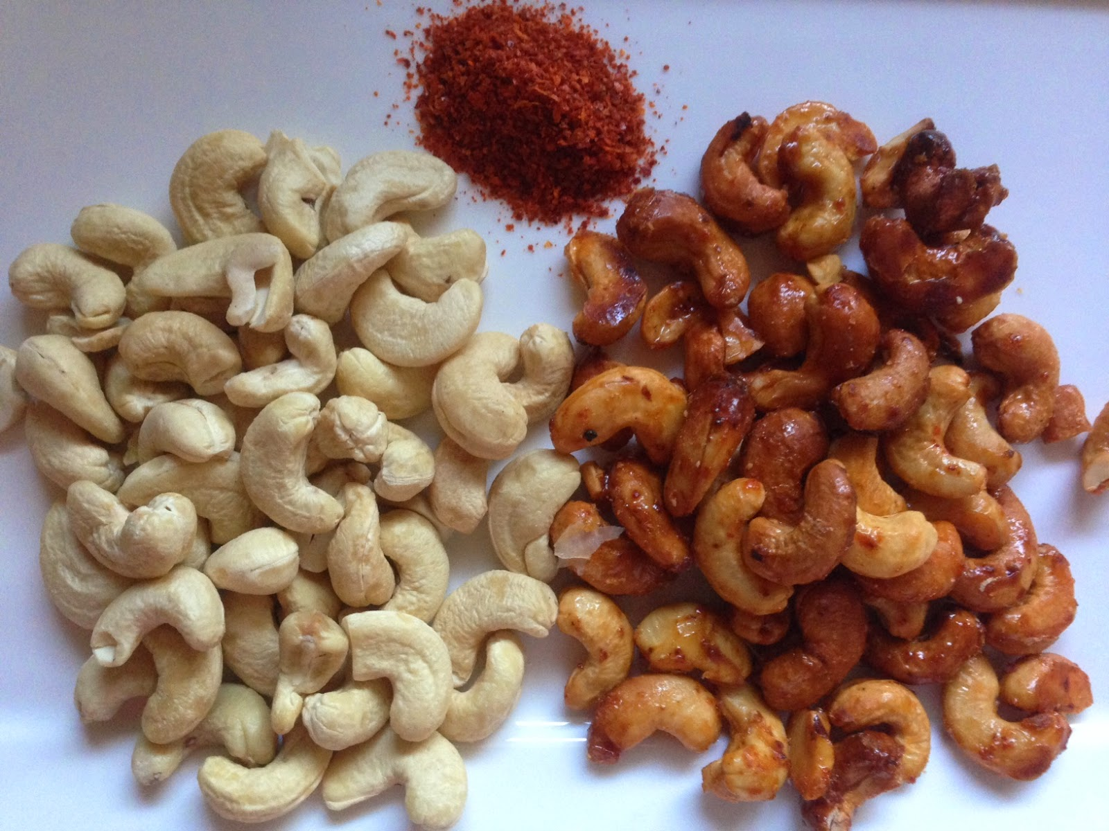 how to make spicy cashew nuts