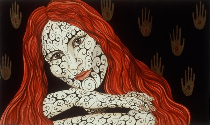 Tina Blondell 1953 | Austrian-born American figurative painter