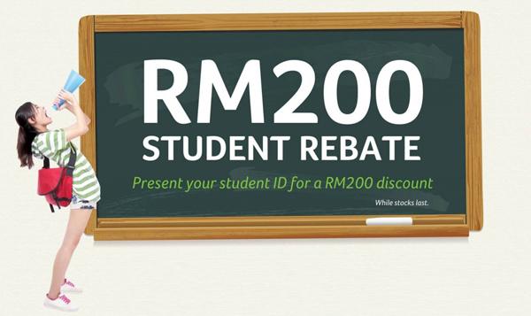 Rebate RM200 Untuk Pelajar Kembali Lagi Hebat