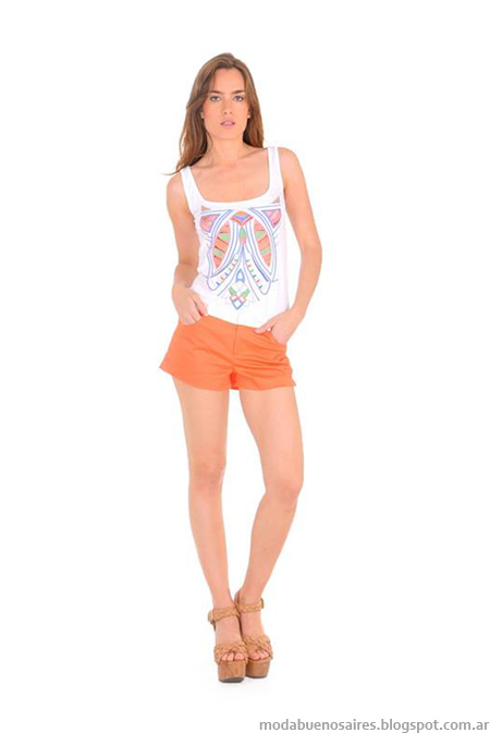 Pantalones y shorts verano 2014. Ossira verano 2014.