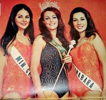 TOP TRES MISS BRASIL 1968