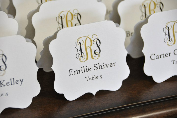 We are so excited to share our new place cards with you