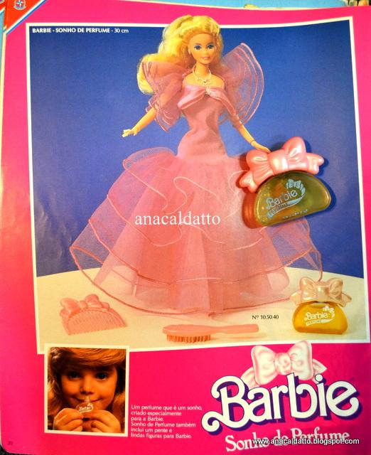 Perfume Kouros Bom Yahoo: Ana Caldatto : Barbie Sonho De Perfume E Glamour De 1989