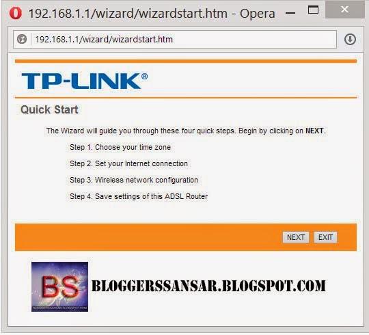tp link quick setup