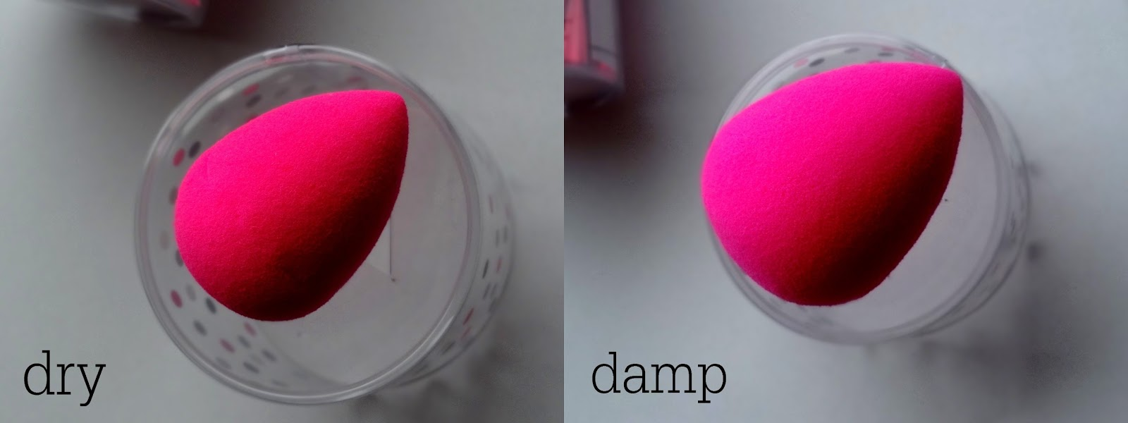 Beautyblender Makeup Sponge Wet/Dry Pictures Review