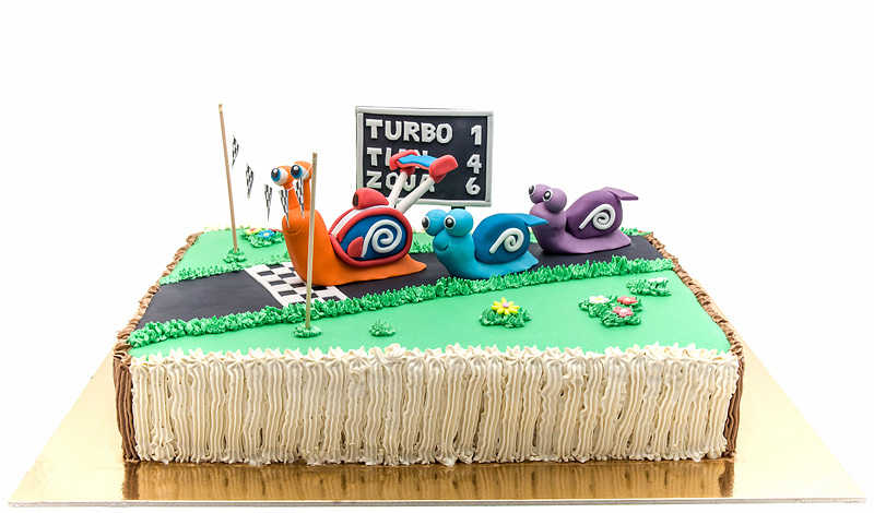 Turbo fondant cake 2nd edition front side