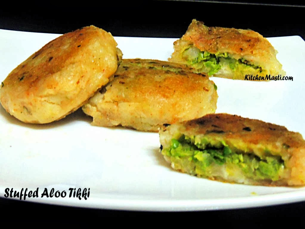 Stuffed Aloo Tikki Recipe