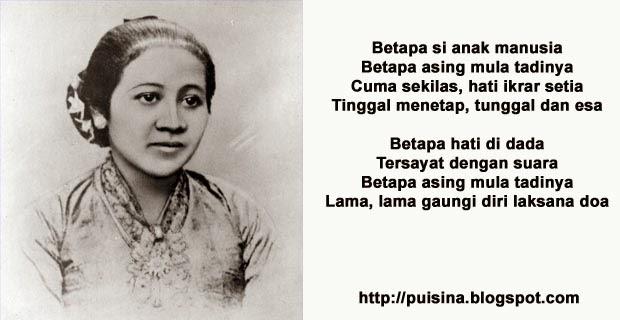 Puisi Kartini Pahlawan Feminis dan Nasionalis