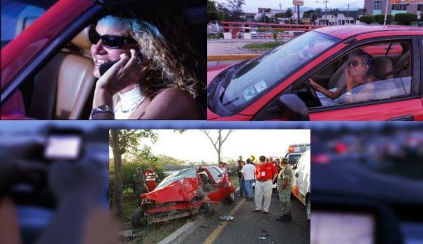 NOTICIA - Una mujer muere en un accidente minuto después de publicar un mensaje en Facebook