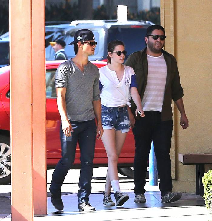 Kristen Stewart - out and about in LA March 12 - 2013