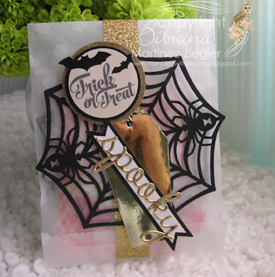 quick and easy halloween goody bag