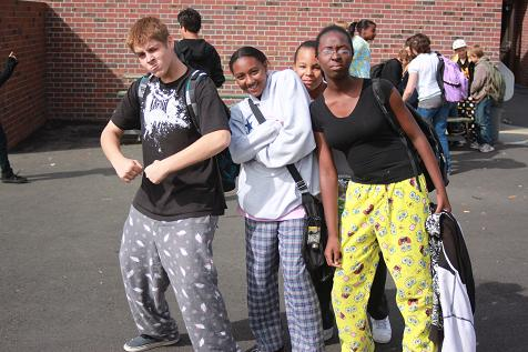 pajama day school dress code