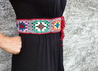 Crochet-granny-square-belt