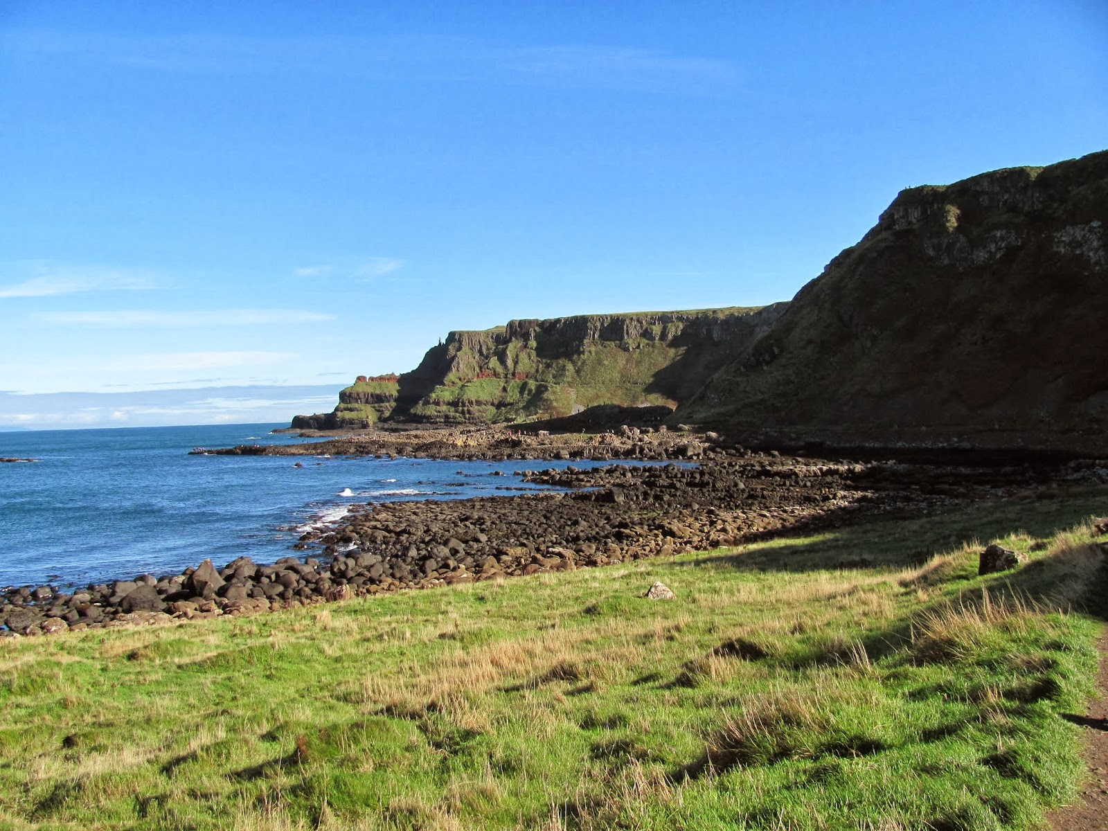 Giant's Causeway from Near Distance