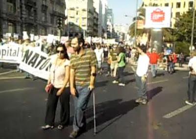 Revolução Portuguesa 15 de Outubro Lisboa Portugal Manifestação Largo do Rato Rua Brancamp TugaLeaks