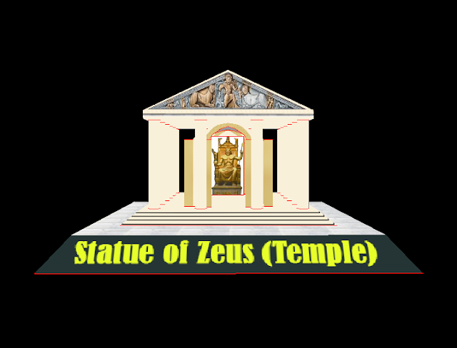 Seven Wonders of the Ancient World Pt.4 – The Statue of Zeus (Temple of Zeus)