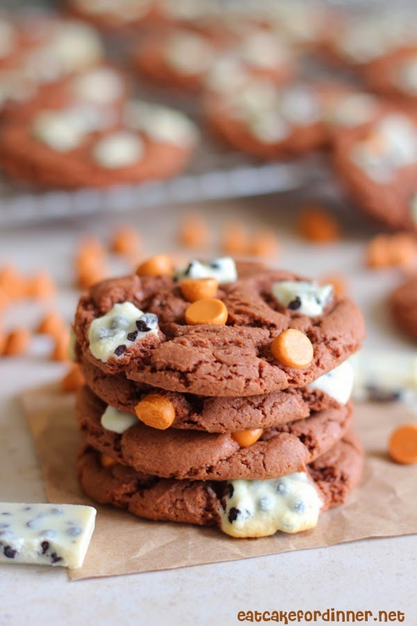 Eat Cake For Dinner: Butterscotch Cookies 'n Cream Cake Mix Cookies