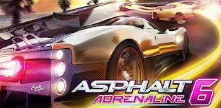 Asphalt 6 Adrenaline HD APK Android
