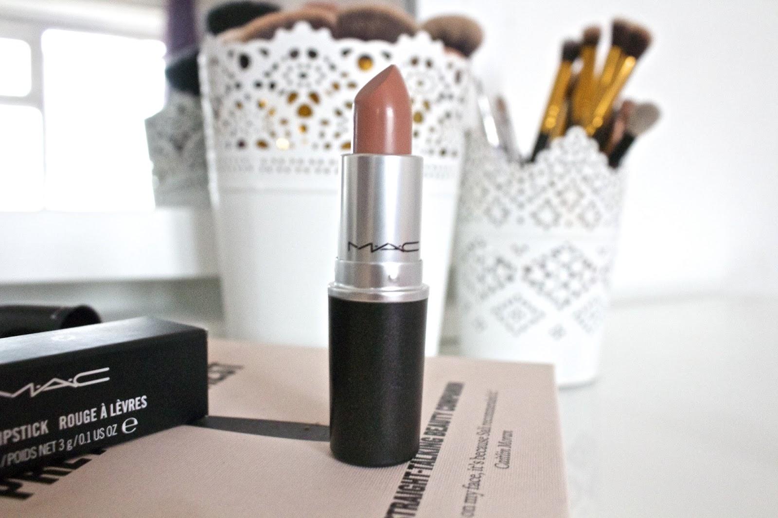 A review of MAC Honeylove lipstick