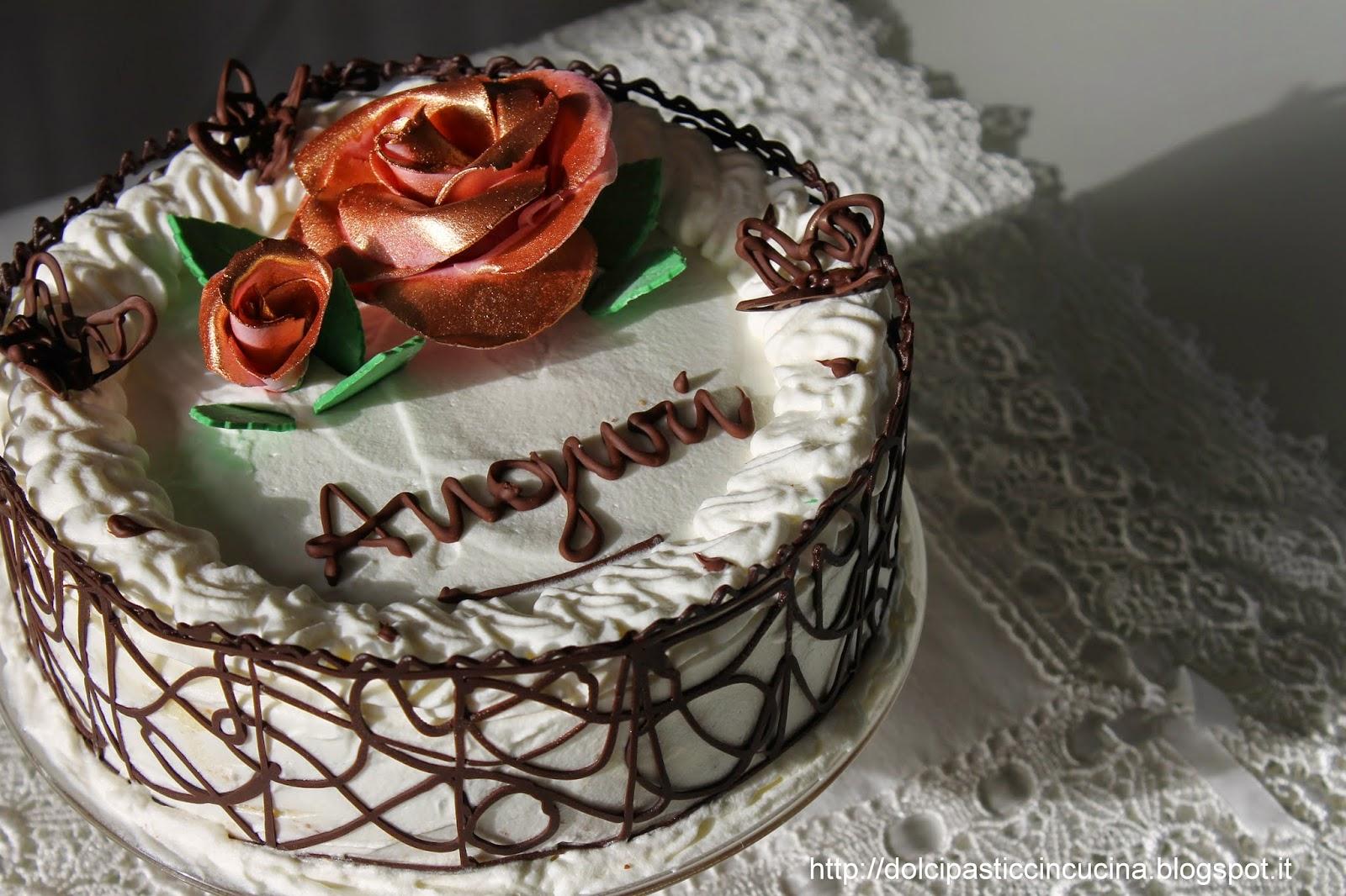 Incucinacolcuore torta di compleanno for Idee per torta di compleanno