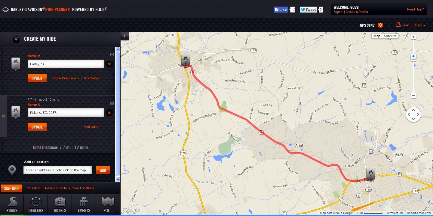 Bucky S Ride Mapping Your Route A Better Alternative To Google