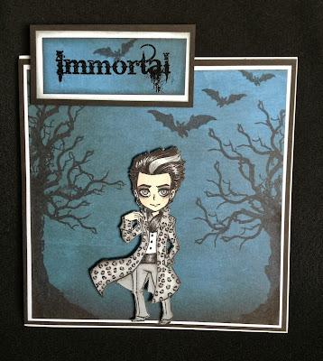 eerie tree bats immortal vampire edward stamps