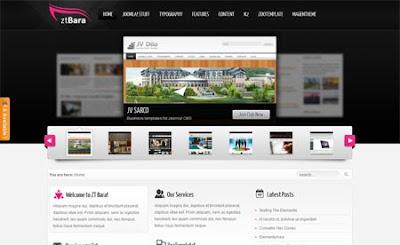 ZT Bara ZooTemplate Premium Joomla 1.6