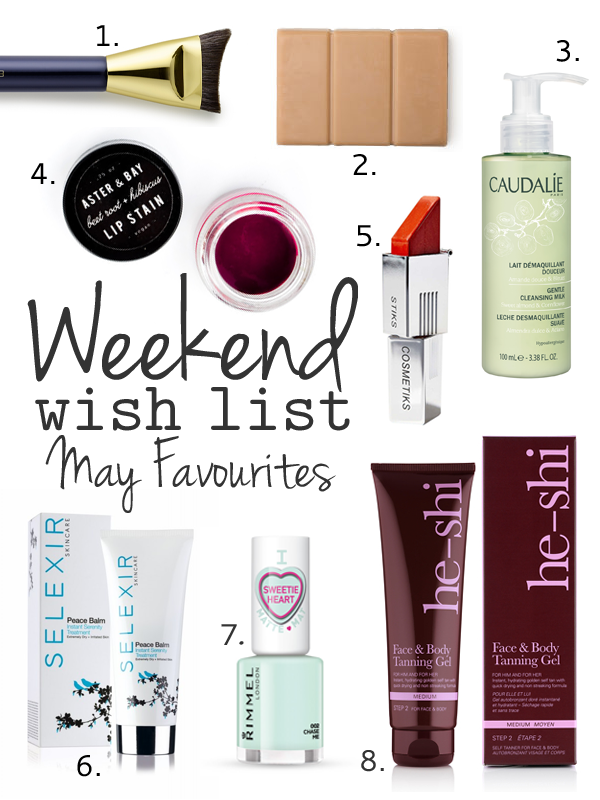 Weekend Wish List – May Favourites