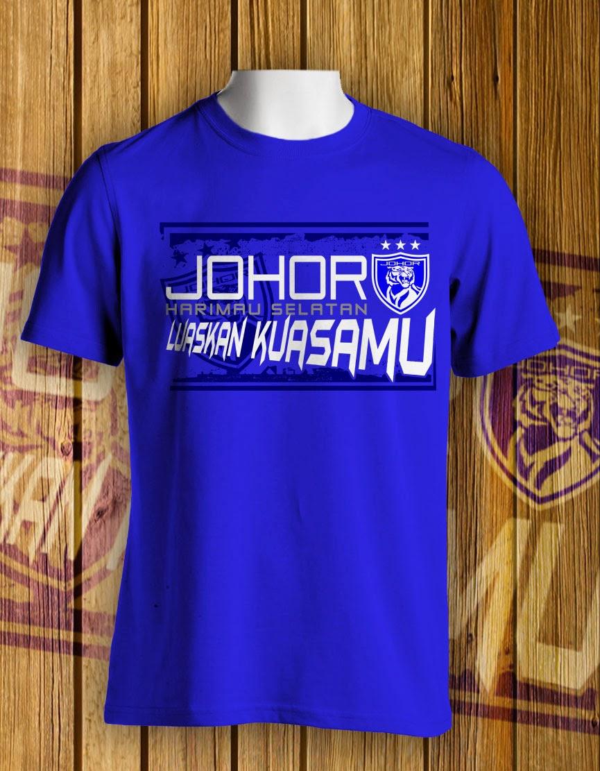 Design t shirt johor - Tshirt Bola Baju Bola Jersey Jersi Tshirt Bola Malaysia Baju T Shirt Bola Johor Luaskan Kuasamu Kod Rpb221010