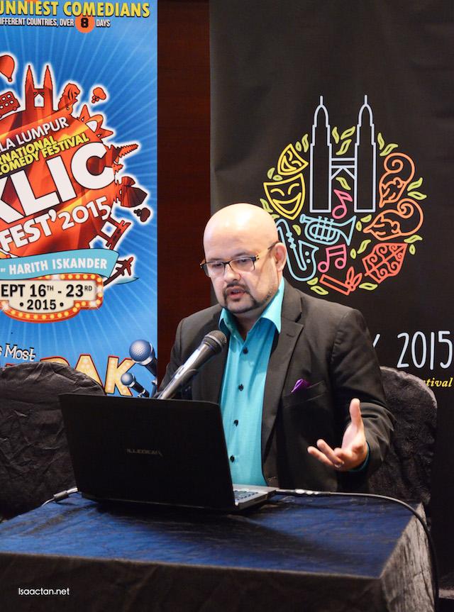 Kuala Lumpur International Comedy Festival 2015