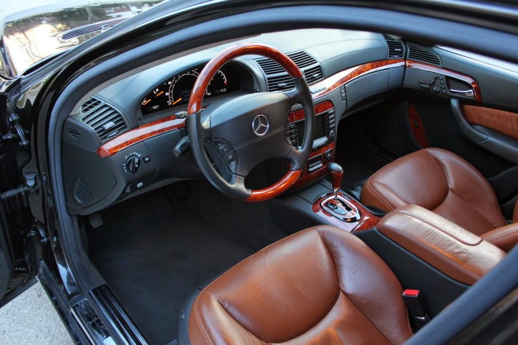 2004 Mercedes Benz W220 S500 4matic Designo Interior