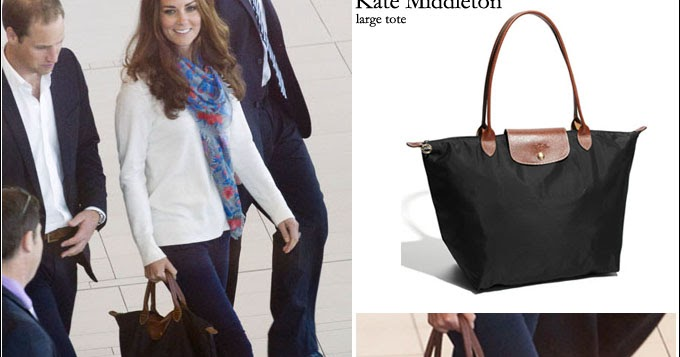 c5522e7e69ec Longchamp le pliage tote... Kate Middleton wore it with style - Christina  Foo