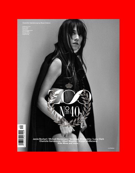 Charlotte Gainsbourg by Bryan Adams for Zoo Magazine No.40