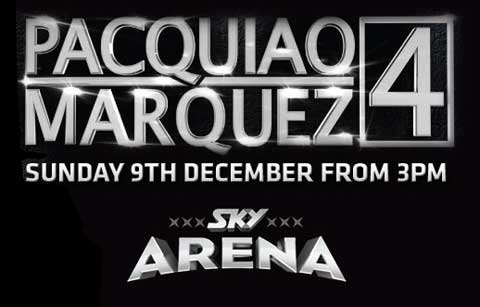 Pacquiao vs Marquez 4 Canada, Australia, New Zealand UK Live Pay Per View PPV TV