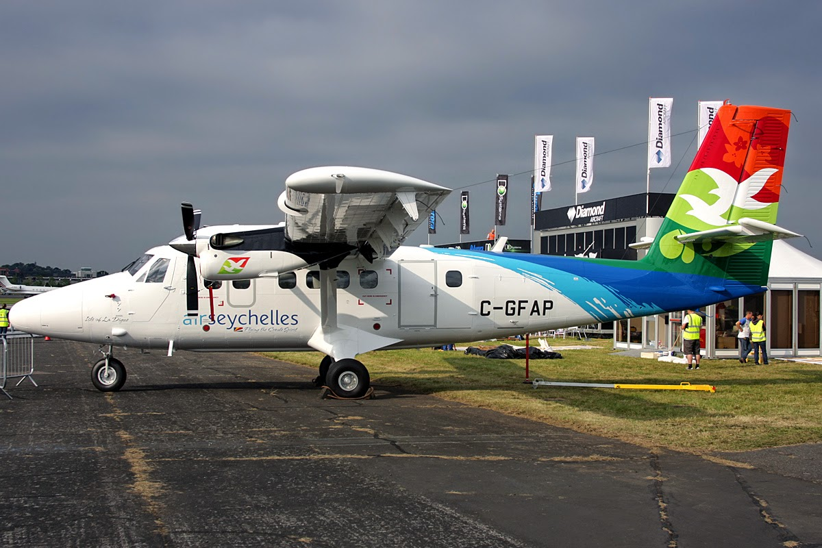 Avrora Airlines will receive five Twin Otter 400 aircraft for flights to the Kuril Islands 51