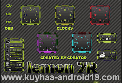THEME WINDOWS 7 LEMON7R